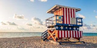 Visit Miami beach life guard stand