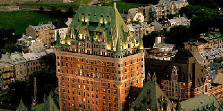 visit the fairmont le chateau frontenac quebec city
